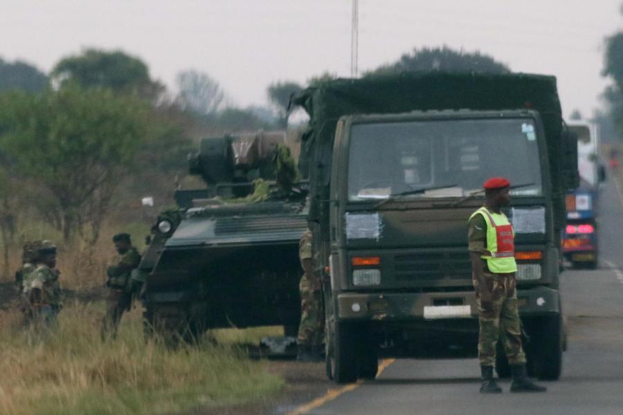 Військові у Зімбабве заявили, що беруть під свій контроль ситуацію в країні