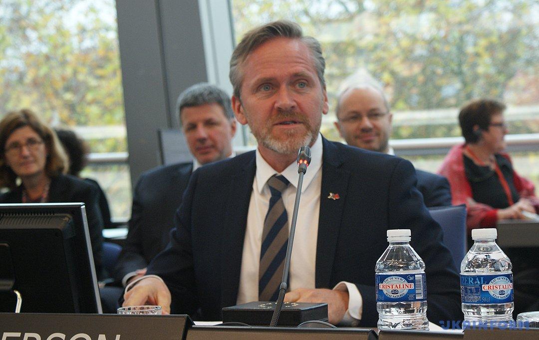 Міністр закордонних справ Данії Андерс Самуельсен