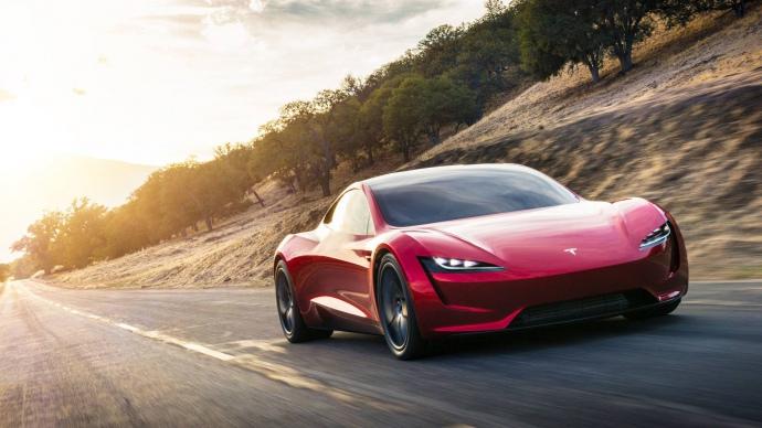 електрокар Tesla Roadster