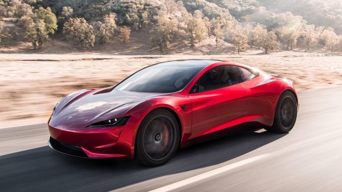 електрична машина Tesla Roadster