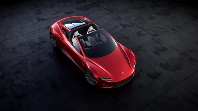 електричний автомобіль Tesla Roadster
