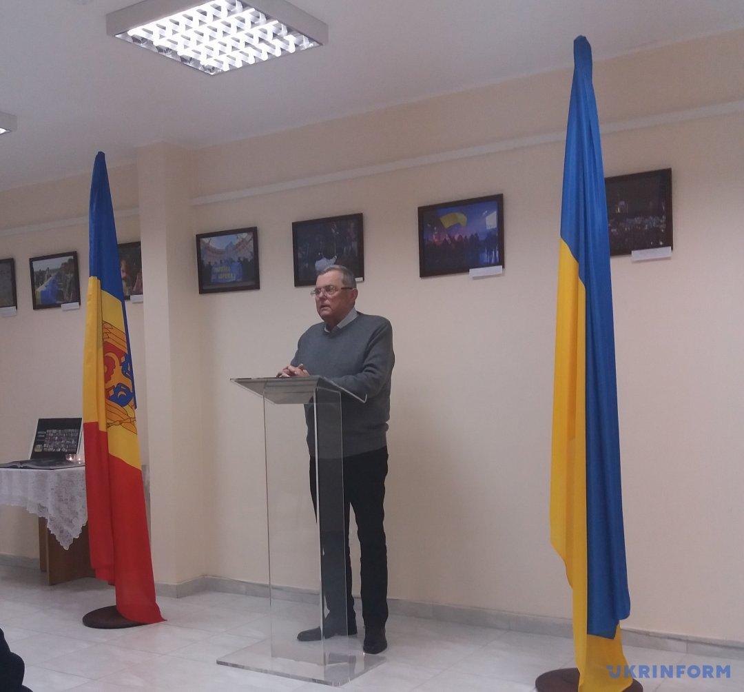 Председатель Украинской Громады Молдовы Николай Олейник