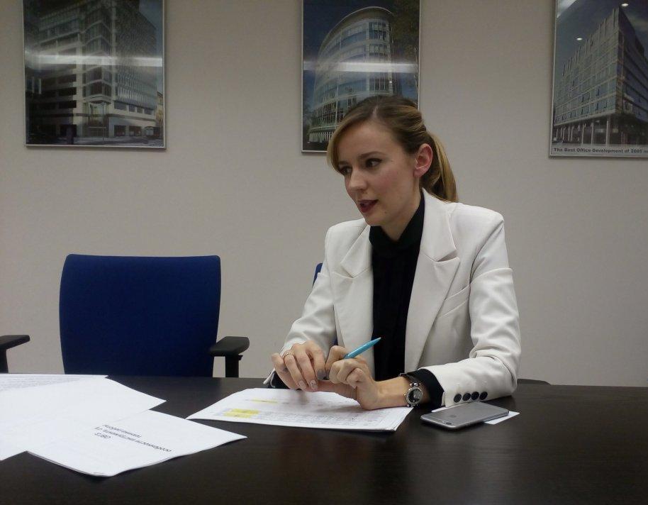 Євгенія Грищенко, керівник департаменту брокерського обслуговування клієнтів групи ICU