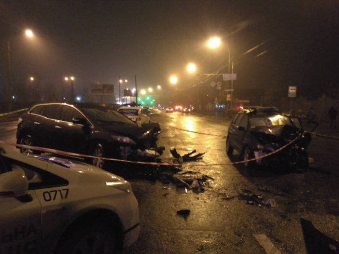 У вечір смертельної аварії у столиці заступник начальника сервісного центру МВС Володимир Найда не тільки відмовився пройти перевірку на вміст алкоголю, а й взагалі не визнавав, що власник авто – саме він