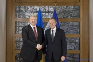 5 Jahre der russischen Aggression: Tusk, Poroschenko und Hrojsman werden an Sitzung der Werchowna Rada teilnehmen
