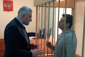 Сущенко подарував акварель Фейгіну на день народження