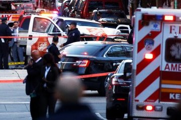 No Ukrainians among victims of New York attack - embassy