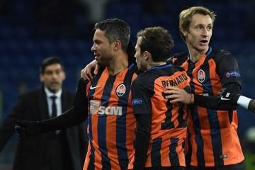 El Shakhtar se impone por segunda vez al Feyenoord Rotterdam en la UEFA Champions  League (Fotos)