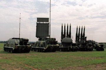 Ukrainian Armed Forces tests medium antiaircraft missile (photos)