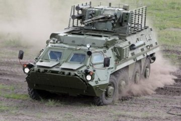 Ukrainian BTR-4E armoured personnel carrier to be exhibited in Bangkok