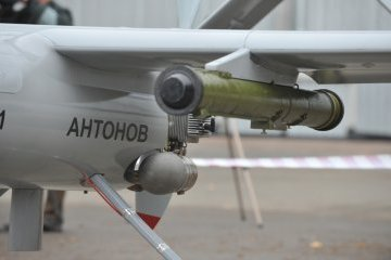 New Ukrainian drone can fire missiles