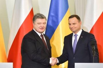 Poroschenko bespricht morgen mit Duda russische Aggression