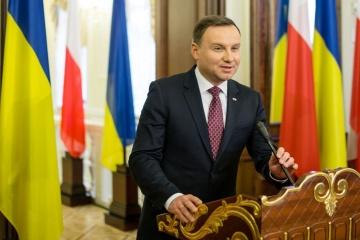 Andrzej Duda besucht die Ukraine am 13. Dezember