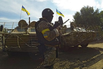 Militants launched 23 attacks on Ukrainian troops in Donbas in last day
