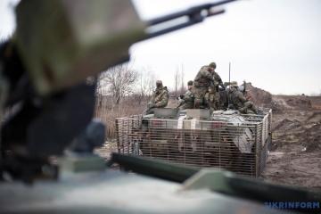Un día en la ATO: Cerca de Novotroitske un soldado ucraniano resultó herido