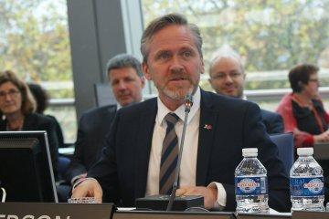 Dänischer Außenminister erwartet von Kiew Bericht über Erfolge mit Reformen