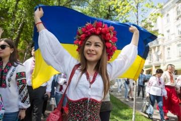 Ukrainer feiern heute Tag der Wyschywanka