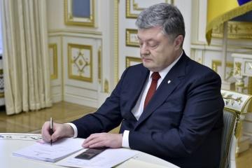 El presidente firma la Ley que prohíbe a los representantes del país agresor ser observadores en las elecciones en Ucrania
