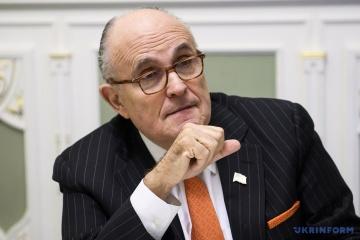 Giuliani: América apoyará a Ucrania
