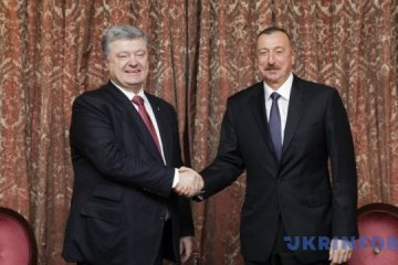 Poroshenko, Aliyev call for expanding trade between Ukraine, Azerbaijan