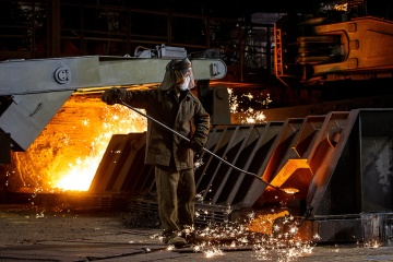 今年,乌克兰冶金产量增加