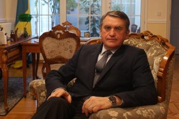 Ukraine's Ambassador to France congratulates Sushchenko on his birthday