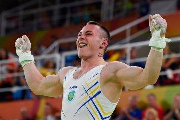 El gimnasta Radivilov por segunda vez se convierte en el mejor deportista del mes en Ucrania
