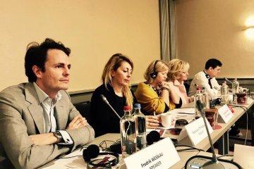 Gerashchenko en Bruselas habla sobre las consecuencias de la agresión rusa contra Ucrania