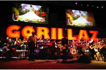 Gorillaz actuará por primera vez en Ucrania