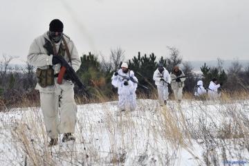 Terroristen setzen ihre Angriffe im Donbass fort