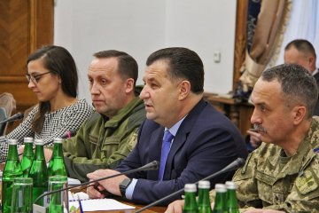 Defense Ministry tests effectiveness of its reforms during combat operations in eastern Ukraine - Poltorak