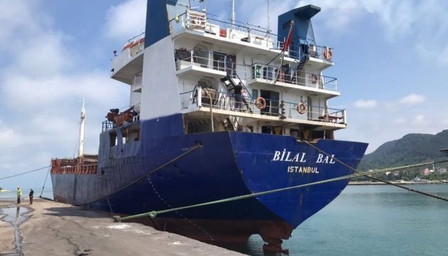 Турецький прем'єр підтвердив, що судно Bilal Bal затонуло