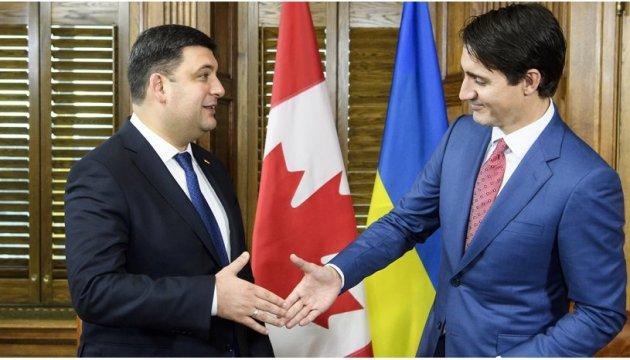 Le conseiller de Volodymyr Groisman a dévoilé les détails de son entretien avec Justin Trudeau