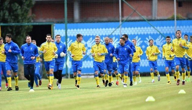 Відкрите тренування збірної України з футболу відбудеться 6 листопада