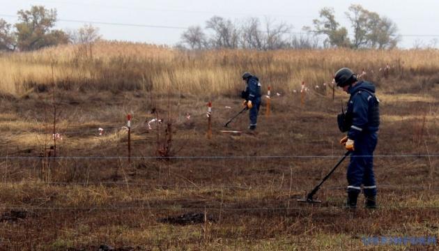 Розведення сил на Донбасі: біля Петрівського розмінували понад 17 гектарів