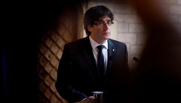 Пучдемон став єдиним кандидатом на пост глави уряду Каталонії