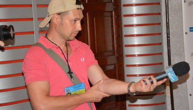 В Николаеве ограбили журналиста во время съемки