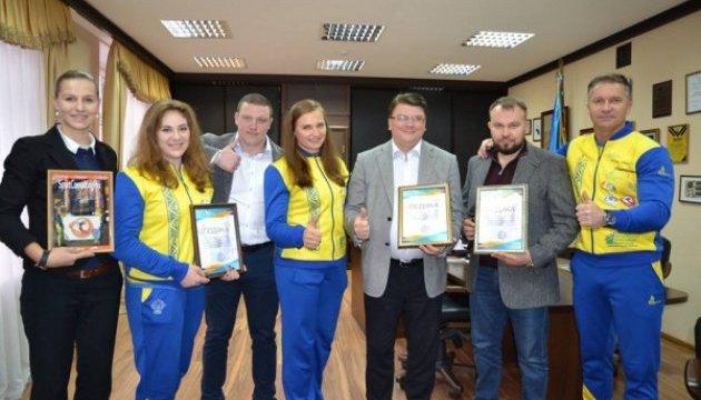 Ігор Жданов привітав найсильнішу жінку планети – українку Ольгу Лящук