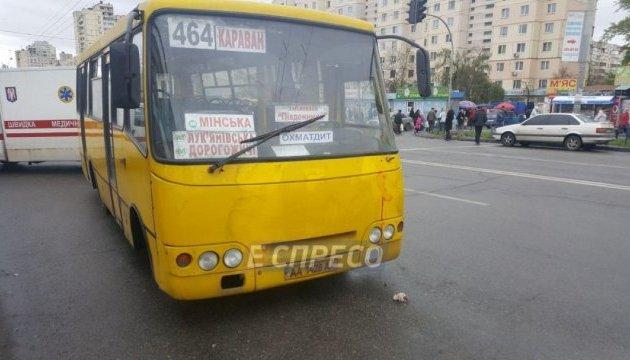 У Києві заарештували водія маршрутки, який на смерть збив подружжя