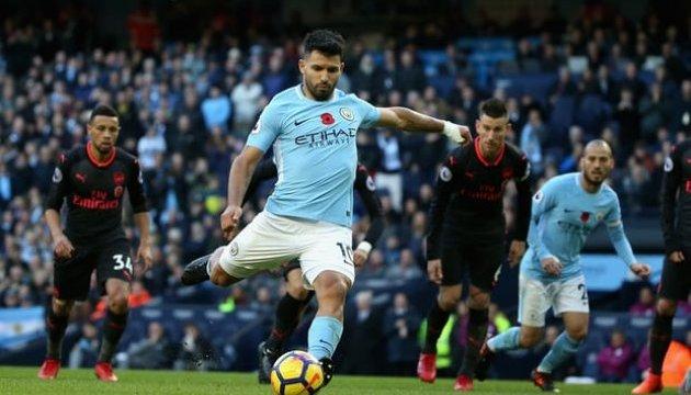 АПЛ: «Ман Сіті» обіграв «Арсенал»