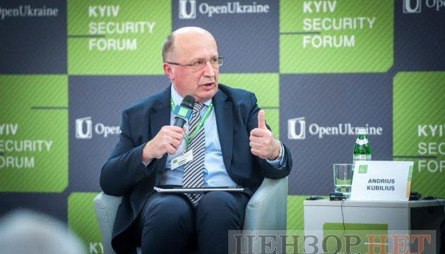 Экс-премьер Литвы верит, что имперские привычки сажать патриотов отойдут в прошлое