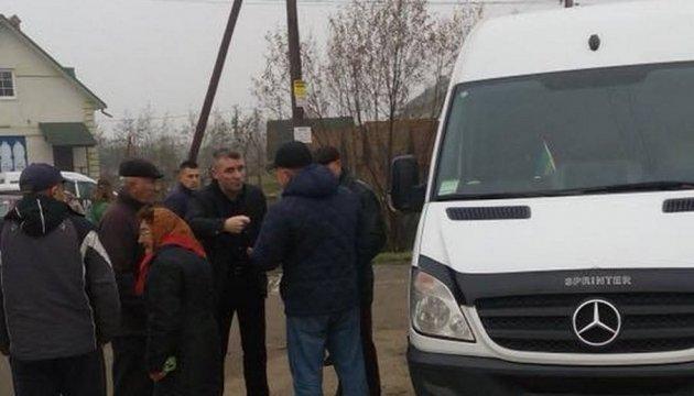 На Львівщині перекрили дорогу через здорожчання маршруток