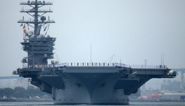 США проведуть перші за 10 років навчання трьох груп авіаносців у Тихому океані