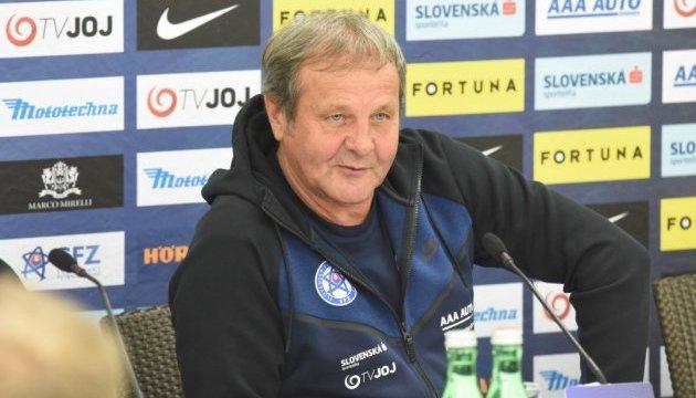 Словаччина планує виставити на футбольну гру з Україною змішаний склад