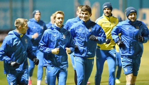 Збірна України з футболу сьогодні проведе відкрите тренування в Києві