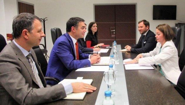 Посол України в Македонії вручила копії вірчих грамот