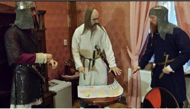 """Князей, """"киборгов"""" и актеров соберут в киевском музее-галерее"""