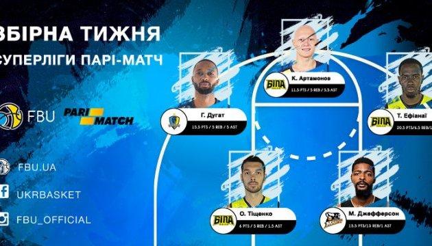 Баскетбол: Артамонова назвали кращим гравцем тижня у Суперлізі України