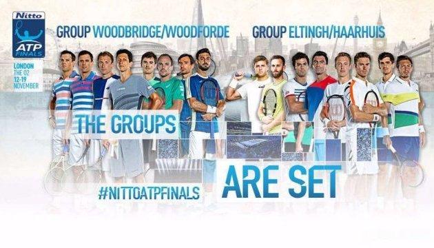 У Лондоні відбулося жеребкування Підсумкового турніру ATP