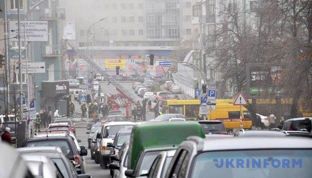 Пожежу в центрі Києва ліквідували - ДСНС